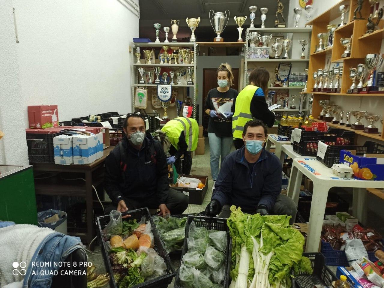 Del Huerto…. a la Despensa Solidaria de Vicálvaro