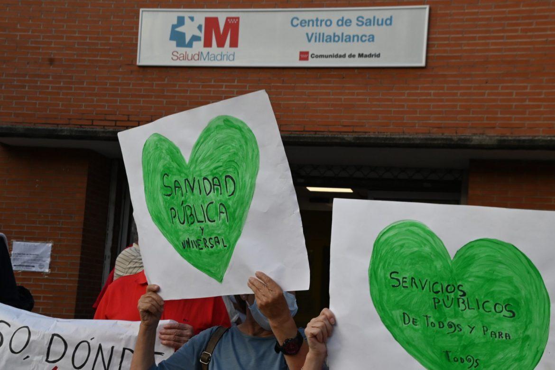 Los hospitales de Madrid, al borde del colapso