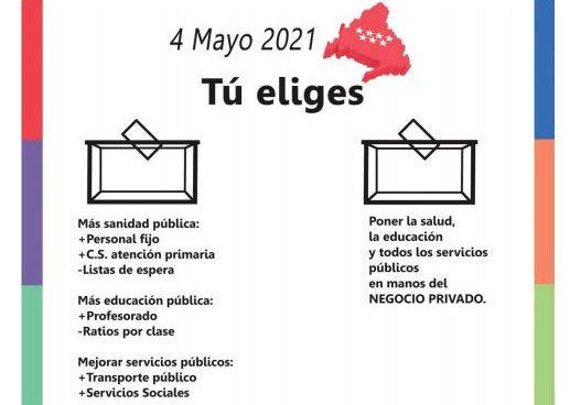 #4M: ELECCIONES A LA COMUNIDAD DE MADRID